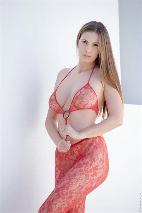 Curvy Connie Carter In Red
