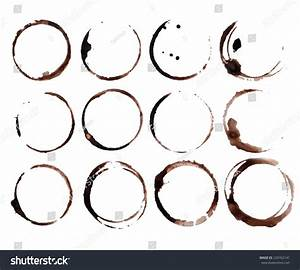 Coffee Stain Rings Vector Stock Vector 229762141 ...