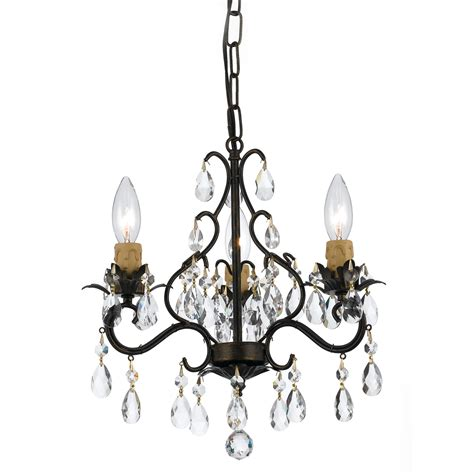 rubbed bronze and chandelier home design ideas