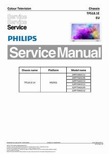 Philips 32pfs5603 24pfs5603 Tv Service Manual And Repair