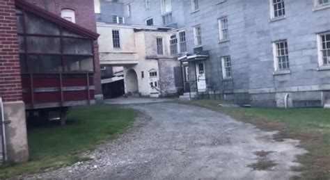 staggering    abandoned asylum hiding  maine