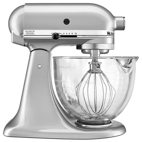 Kitchenaid Mixer Glass Bowl by Kitchenaid 174 5 Quart Tilt Stand Mixer With Glass Bowl