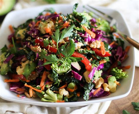cuisine salade superfood salad myfitnesspal