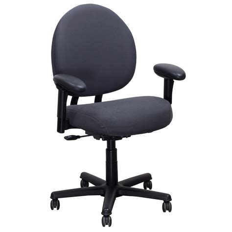 steelcase criterion used plus task chair gray pattern