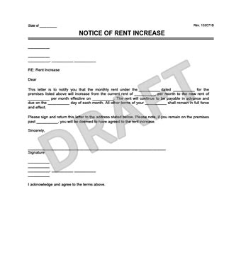 letter table rental nyc create a rent increase notice in minutes legal templates