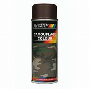 bombe de peinture marron camouflage motip m04205 400 ml With bombe de peinture pour bois
