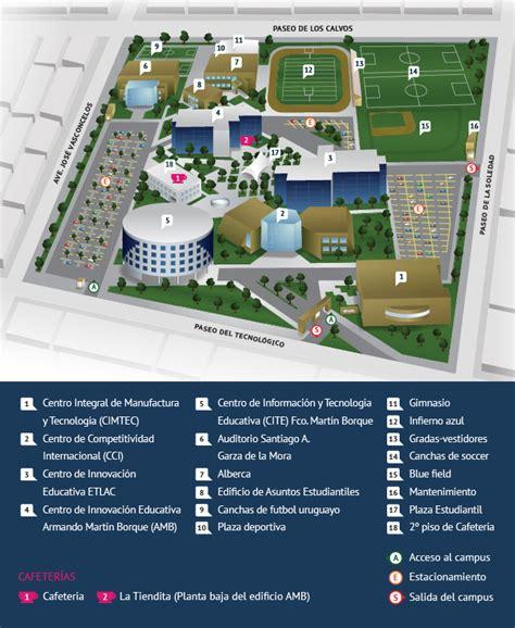 Mapa del campus   Campus Laguna  Tecnológico de Monterrey
