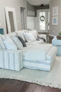 coastal themed decor custom nautical sofa slipcover style sofas