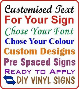 image gallery self sticking letters With vinyl adhesive letters for signs