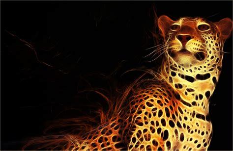 Fractal Animal Wallpaper - jaguar fractal wallpaper by pimart on deviantart animals