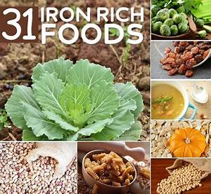 31 Iron Rich Foods For Vegetarians And Vegans | DIY Home ...
