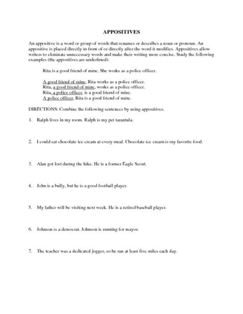 participial phrase worksheet worksheets for all