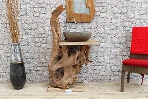 Badschrank Holz Massiv : waschbecken unterschrank waschtisch unterbau teakholz ~ A.2002-acura-tl-radio.info Haus und Dekorationen