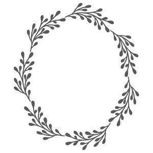 silhouette design store view design  oval leaf