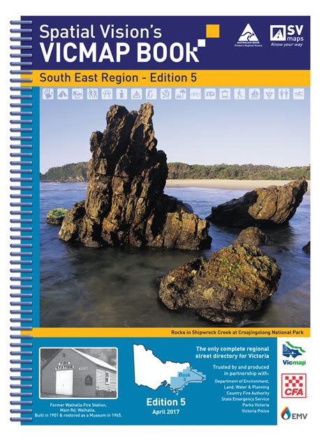 vicmap book south east region spatial vision