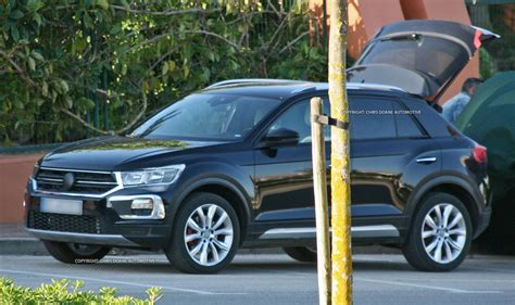 vw  roc spied heralds styling  smaller crossovers