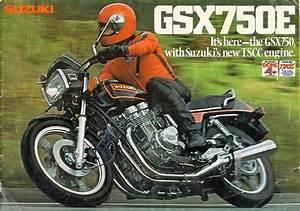 Racing Caf U00e8  Vintage Brochures  Suzuki Gs 750e 1980  Usa