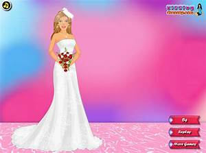 wedding dress free games barbie bride dressup by With free wedding dress up games