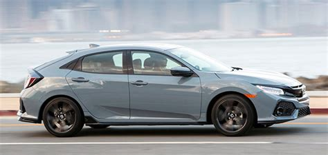 It has the same engines as the sedan, but a stiffer body. Burlappcar: 2022 Honda Civic Hatchback: driving around...