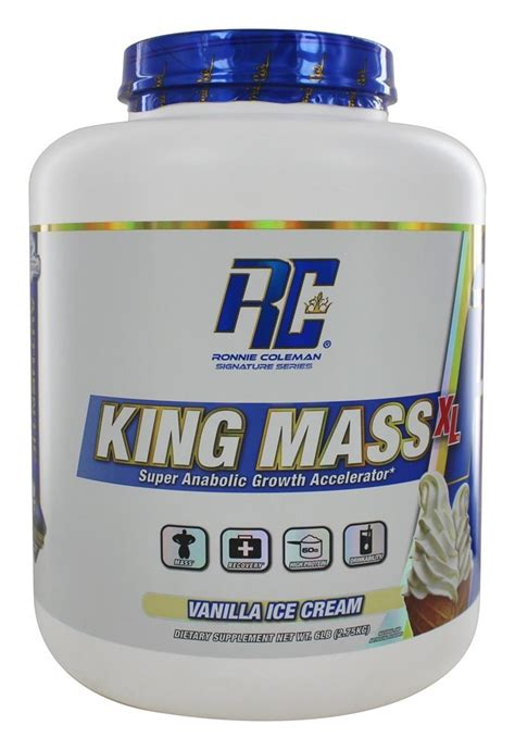 buy ronnie coleman signature series king mass xl super anabolic growth accelerator vanilla ice