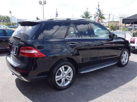 Pre owned 2012 mercedes benz ml350 bluetec wnav awd ml 350. Used 2012 Mercedes-Benz M-Class ML350 4MATIC 77,840 Miles Black SPORT UTILITY 4-DR 3. for sale