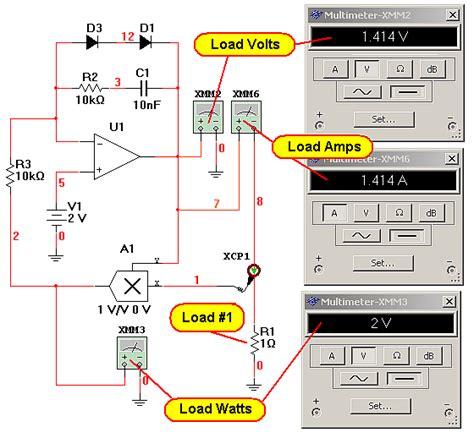 edn  demonstration  constant power regulation