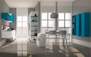 cucina e salotto unico ambiente piccolo: arredamento cucina e ... - Cucina Salone Unico Ambiente Piccolo