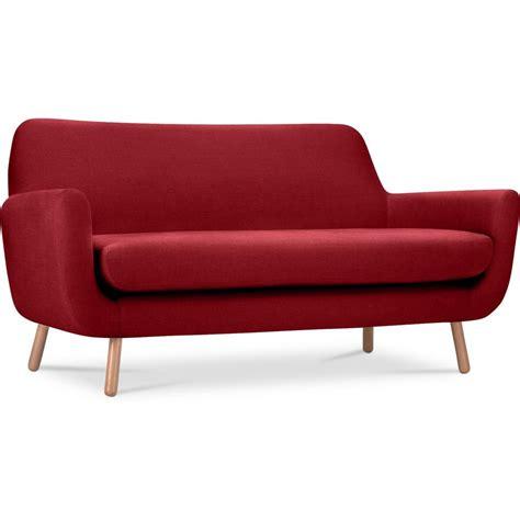 canapé lit tissu canape 2 places maison design modanes com