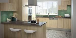 modele cuisine moderne cuisine moderne tendance ides With modele cuisine bois moderne
