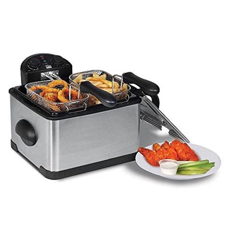 deep fryer double electric elite matic fry maxi platinum dual french quality air