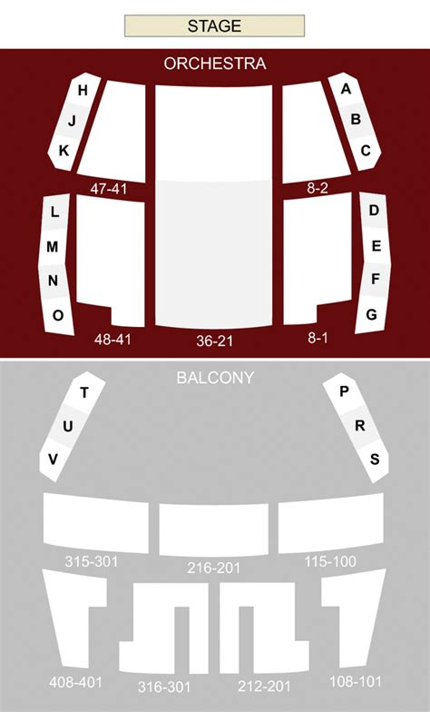winter garden theatre toronto  seating chart stage