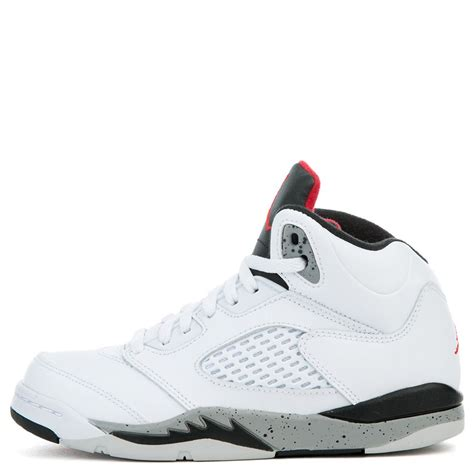 jordan  retro bp whiteuniversity red black matte silver