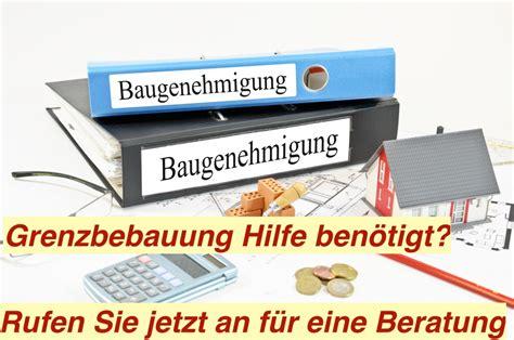 Grenzbebauung Berlin  Baugenehmigung Bauantrag