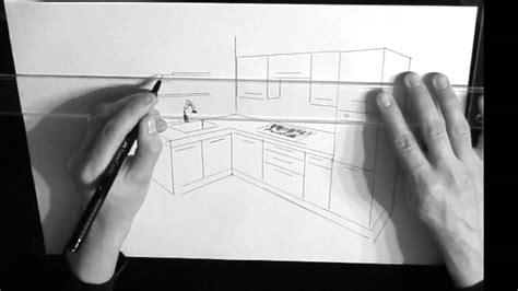 dessin d une cuisine dessin cuisine en perspective