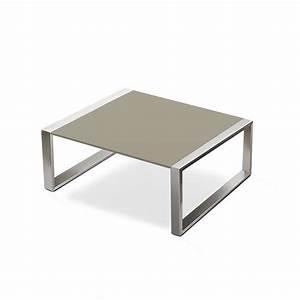 Petite Table En Verre : petite table basse cima lounge jardinchic ~ Teatrodelosmanantiales.com Idées de Décoration