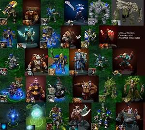 DOTA 1 Vs DOTA 2 Hero Model Comparisons Lzuruha Forums