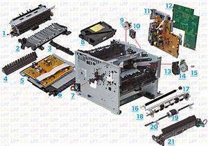 Parts Diagram For Laserjet P3005