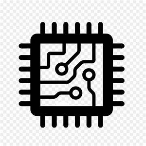 integrated circuits chips central processing unit With electronics pc board chip circuit electric electronic electronics