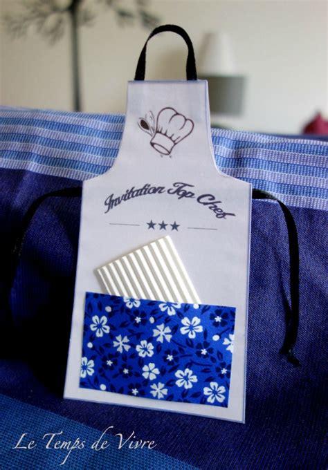 organiser sa cuisine un anniversaire top chef 1 les invitations le temps