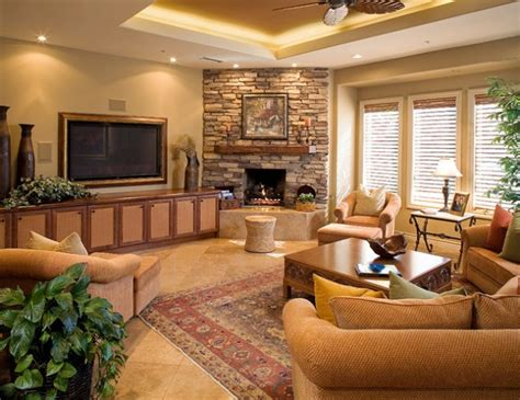 Living Room Design Around Fireplace by 17 Ravishing Living Room Designs With Corner Fireplace