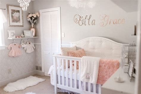 ella graces swan lake nursery baby girl nursery ideas