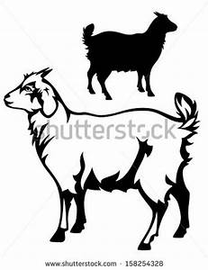 Pin Goat Outline Clipart on Pinterest