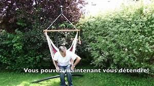 Pied De Hamac : support universel pour chaise hamac par hamac univers youtube ~ Teatrodelosmanantiales.com Idées de Décoration