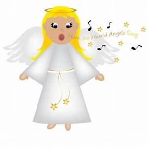 Free Angel Clip Art Image Christmas Angel Singing ...