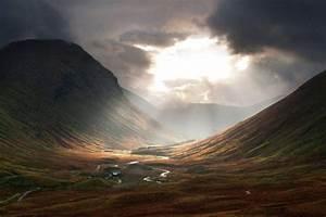 Nature, Photography, Landscape, Mountains, River, Road, Mist, Valley, Sunlight, Sun, Rays, Dark