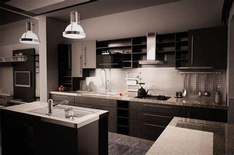 21 Dark Cabinet Kitchen Designs
