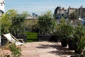 Aménagement Terrasse Appartement : am nagement de balcon paris et en ile de france horticulture jardins ~ Melissatoandfro.com Idées de Décoration