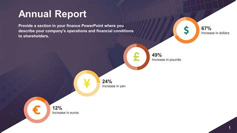 quarterly report powerpoint  templates slidestore
