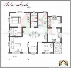 fascinating 3 bedroom house plans with photos in kerala With image of 3 bedroom plan