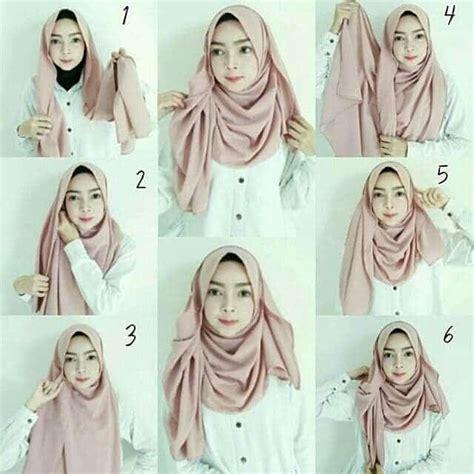 tutorial hijab pashmina hijabtuts